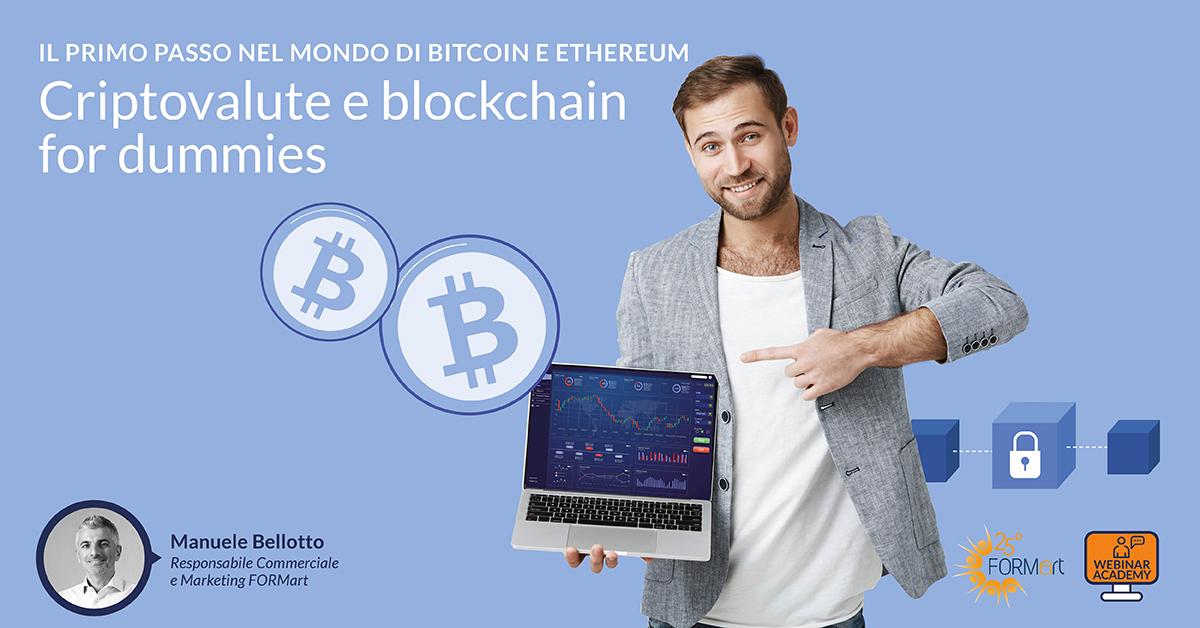 corso criptovalute blockchain