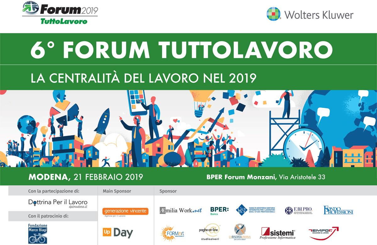 Forum Tuttolavoro 2019
